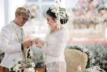 The Wedding of Andania Suri & Isdananto Oktianur by Amorphoto