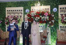 The Wedding of Tania & Kemal by MC Faiz