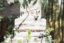 Forest Wedding Of Andrew and Lia by Amor Cake