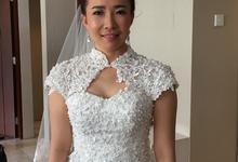 Make Over China Bride by Fifi Huang by Fifi Huang Makeup