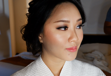 Wedding Makeup Day & Night Look by Fifi Huang Makeup