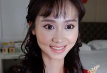 CHINA WEDDING MAKE UP by Fifi Huang Makeup
