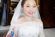 THE WEDDING OF Mr. DAVID & Ms. SUN LE by Fifi Huang Makeup