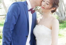 PREWEDDING CHINA COUPLE by Fifi Huang Makeup