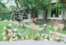 Geometry Gatsby 17th Bella Birthday Party by Bali Wedding Atelier