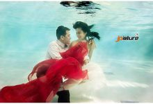 Underwater Prewedding by JP Picture