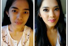 Before - After by Angela Devina Make Up Artist