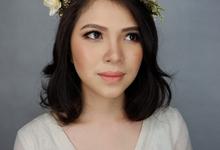 Ms.gloria's bridal make up by Isabellejongmua