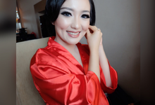 Makeup Wedding for Reception Hans & Elda @Medan by Makeup by Maya Kusumadewi