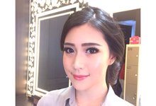 The wedding, day makeup by Hannah Sherly