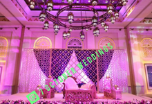 Moroccan-themed Purple Wedding by 7 October Weddings