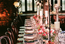 Loft Wedding dinner M&A by WeDoAgency