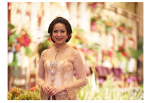 Pras  Sutowo and Icha Tanjung Wedding Reception by Sari Nila