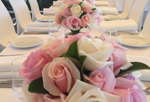 Recent wedding flowers by japonica