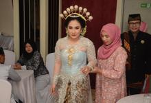 Mia & Aryo Wedding by Nayah Make Up Artist