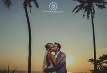 The Wedding of Amanda & Chris by MAJAartisan