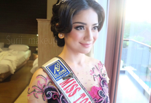 Makeup for miss tourism indonesia for congress  by surii makeup artist