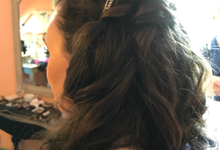 Bridal Hair by Maria Ball by primp & polish