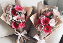 Wrap Gift Bouquet by Florist By HaejaBudiman