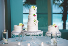 Wedding cakes by Love At First Bite