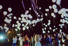 We can fly away by Wedding planner Oksana Bedrikova