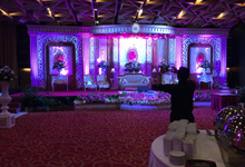 Merry & Boma  at. aston palembang by Naraya Wedding Decoration