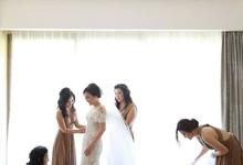 VICTOR & RIANA • Classic Champagne Nude by MALVA Bridesmaids