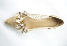 Embellishment on shoes, by CAVA PRIVÉ
