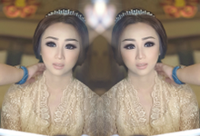 Wedding makeup for Irene (palu) by Imel Vilentcia Make Up Artist