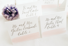 Place Cards by Meilifluous Calligraphy & Design