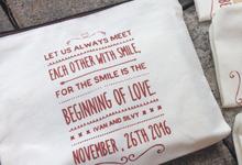 Ivan + Silvy Wedding // November 2016  by Packy Bag Vintage