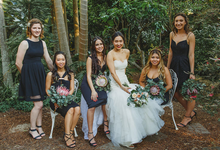Michelle + Elliott by Sydney Floral Events