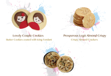 Engangement Cookies by SH Printing and Hampers