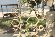 Rustic hexagonal wedding by Bali Signature