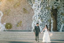 The pre wedding gung putra + wulan by Bali Moments Photography