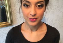 A speedy make up trial by Bespoke by Shivani