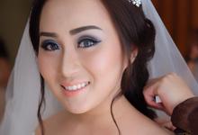 Wedding of Heru and Alviena by VIDI Airbrush Wedding make up Artist