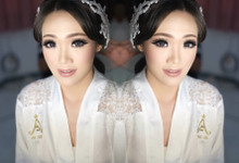 Wedding makeup for Ms Monica - Semarang by Imel Vilentcia Make Up Artist