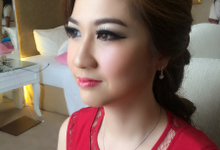 My make up for ms.Tika by mellymoxie