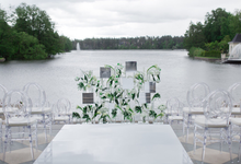 Minimalist wedding in June by Maria German decor
