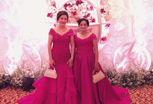 Mother of the Groom & Bride Gowns by Jessica Huang