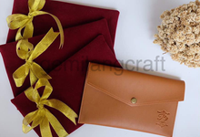 Exclusive packaging of our Premium pouch by Gemilang Craft