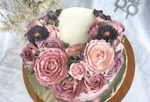 Anniversary cake by Favory Flavor