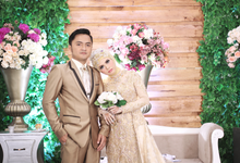 The Wedding of Tryssya + Luthfi by Cloud Studio
