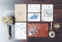 Wedding Invitations  by Vivoila Paperie