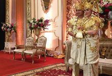 Riani & Rizal - Palembang Wedding Day by SEDJOLI WEDDING ORGANIZER