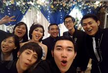 Elegant Silver Blue Wedding Theme by D'KeY wedding organizer