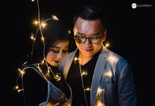 Angga and Rifka prewedding  by Malammerah Pictures