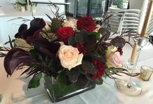 Juanita + David by Sydney Floral Events