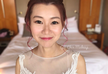 Sharon's Actual Day Wedding by Gin Chia Makeup